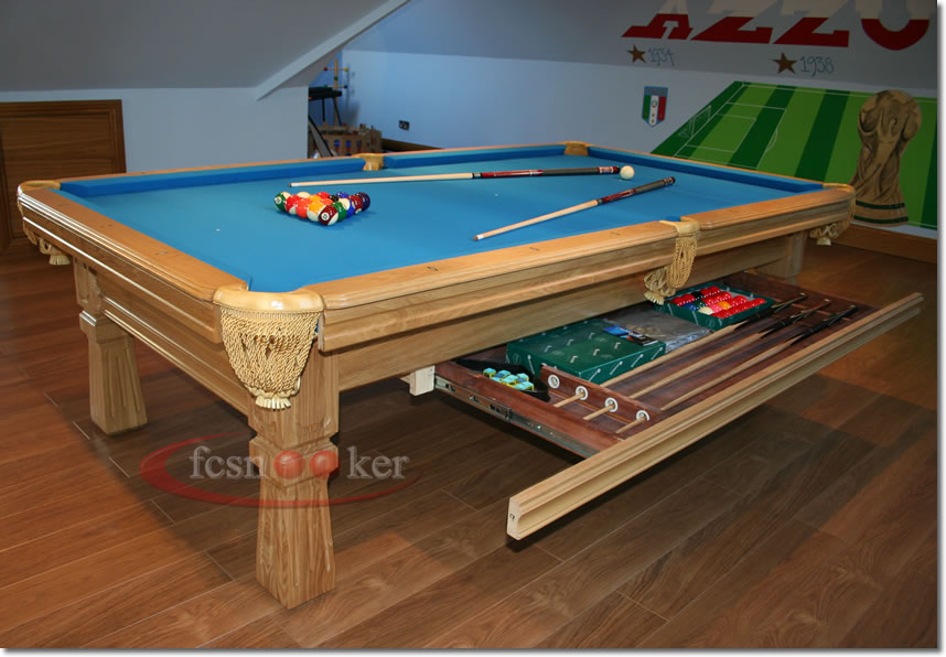 Welcome to fcsnooker - Newly manufactured slate bed American Pool Tables in different sizes ...